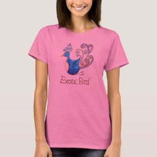 Exotic Bird Long-sleeve Tee shirt