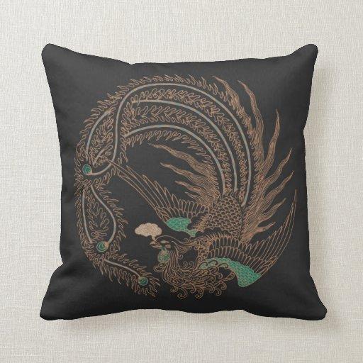 Exotic Bird Pillow