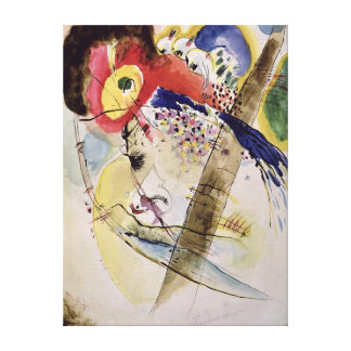 Exotic Birds, 1915 Canvas Print