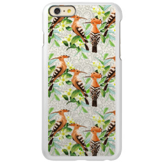 Exotic Birds On Lace