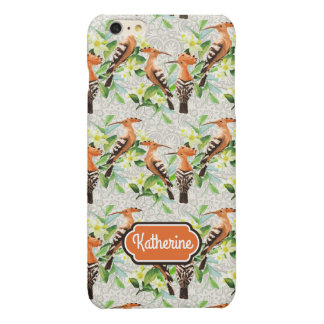 Exotic Birds On Lace | Add Your Name iPhone 6 Plus Case