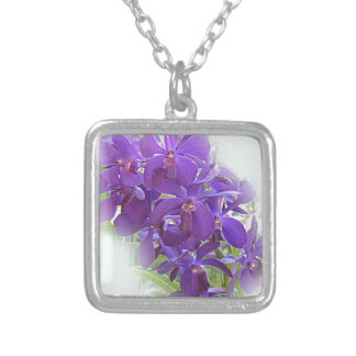 EXOTIC BLUE ORCHIDS CUSTOM JEWELRY