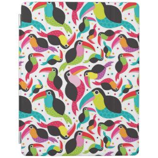 exotic brazil toucan bird background iPad cover