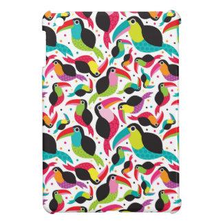 exotic brazil toucan bird background iPad mini case