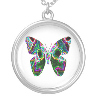 Exotic Butterfly Personalized Necklace