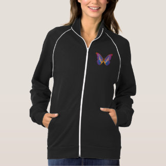 Exotic Butterfly Watercolor Pocket Jacket