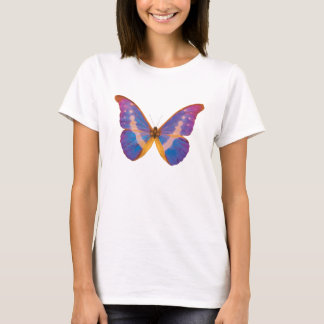 Exotic Butterfly Watercolor T-Shirt