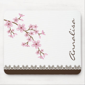 Exotic Cherry Blossom Mousepad