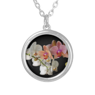 EXOTIC COLORFUL ORCHIDS NECKLACES
