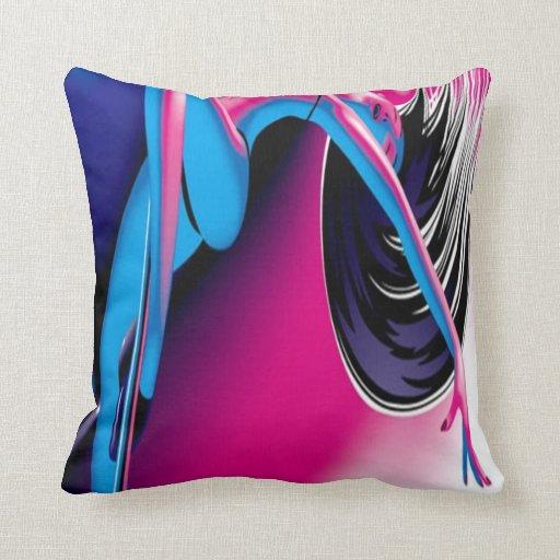 Exotic Dancer Pillow