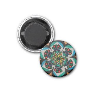 Exotic Design Floral Magnet