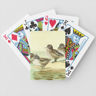 Exotic Duck Birds Wildlife Animal Playing Cards