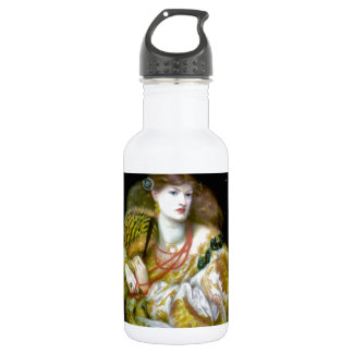 Exotic extravagant woman painting 532 ml water bottle