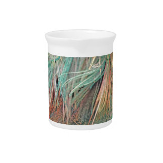 exotic feathers pitcher