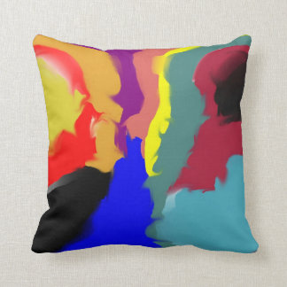 Exotic Feathers Throw Pillow