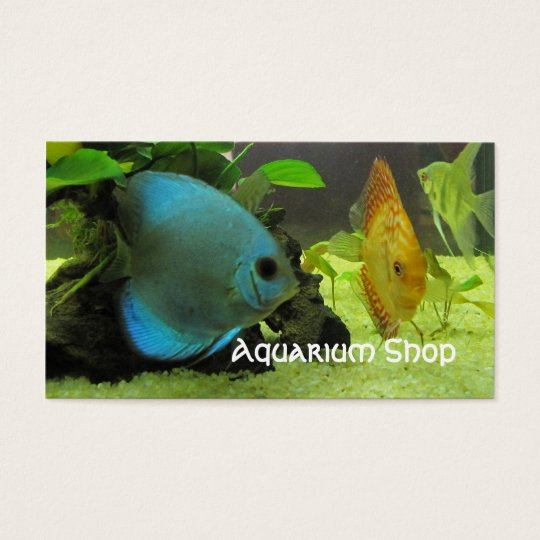 Exotic Fish Shop Business Card