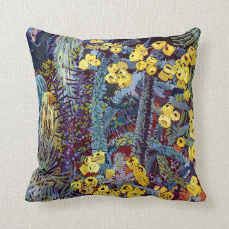 Exotic Flora #10 at SunshineDazzle Pillow