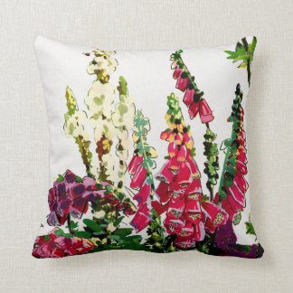Exotic Flora #1 at SunshineDazzle Throw Pillow