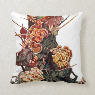 Exotic Flora #9 at SunshineDazzle Throw Pillow