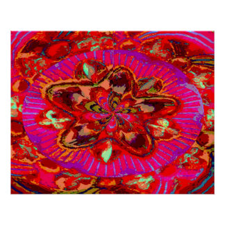 Exotic Flower - Fine Art Digital Graphics Poster
