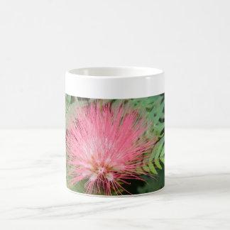 Exotic flower mug