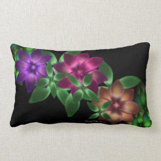 Exotic Flower Vine Pillow