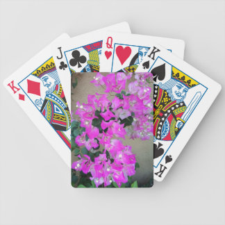 Exotic Flowers Bicycle Playing Cards