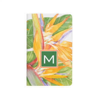Exotic Flowers Watercolor Journals