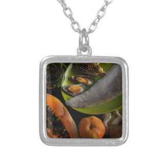 Exotic food necklace