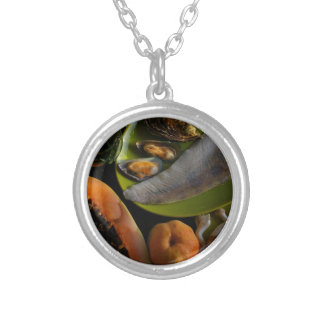 Exotic food pendant