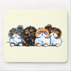 Exotic Foursome Cats Mouse Mat