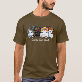 Exotic Foursome Cats Personalized T-Shirt