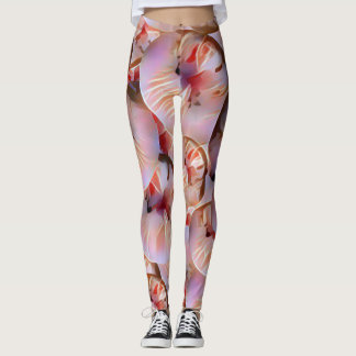 Exotic fruit neon leggings