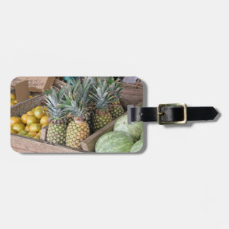 Exotic Fruits luggage tag