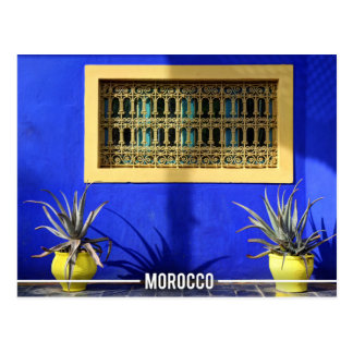 Exotic Garden - Marrakesh Morocco Postcard