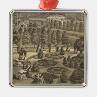 Exotic Gardens & Nurseries in New Jersey Christmas Ornament
