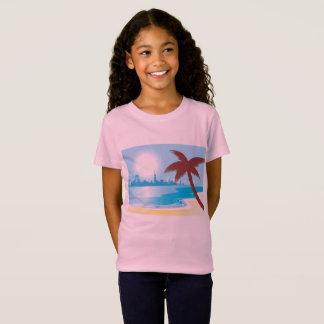 Exotic girls pink tshirt