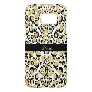 Exotic Golden Leopard Personalized Animal Print