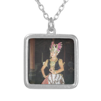 Exotic Golek dancer from Indonesian Pendant