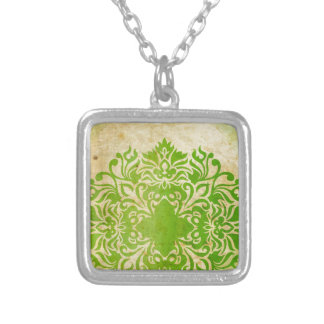 Exotic Green Personalized Necklace