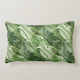Exotic Green Vegies: Artistic Colorful OneOFaKIND Pillow