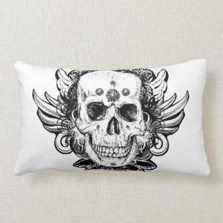 Exotic Grunge Skull Pillow Gift