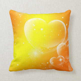 Exotic Hearts And Stars Pillow Cushions