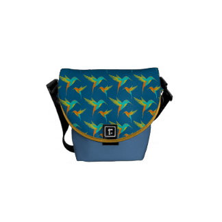 Exotic Hummingbirds Courier Bags