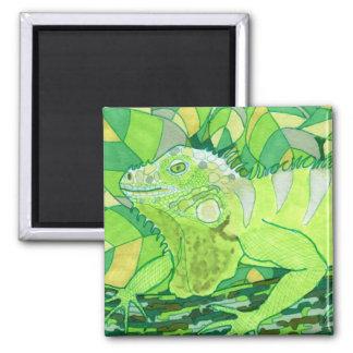 Exotic Iguana Magnet