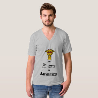 Exotic in America Mens V-Neck Shirt