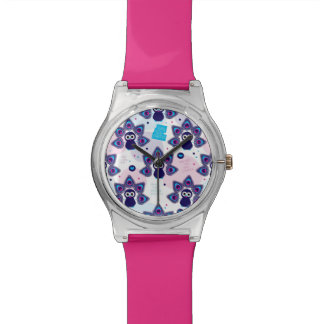 exotic india peacock pattern watch