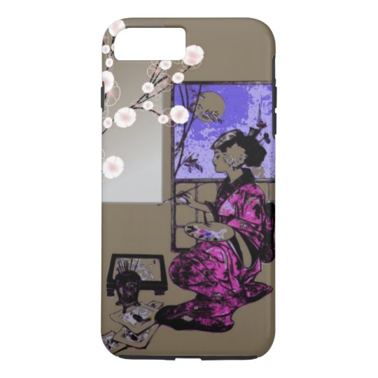 exotic Japanese women geisha phonecase iPhone 8 Plus/7