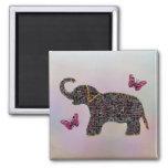 Exotic Jewel Elephant Magnet