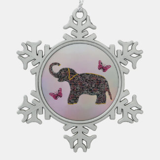 Exotic Jewel Elephant Ornament